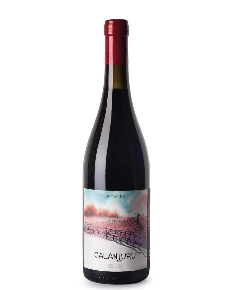 Mortellito - Calaniuru Vino Rosso 2015