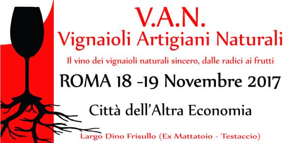 Vignaioli Artiginali Naturali Roma 2017